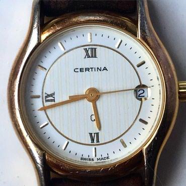 Certina - Srbija: Sat ženski original CERTINA malo nošen i očuvan što se može i videti