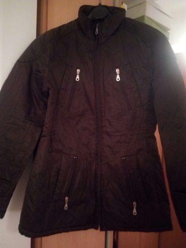 Italijanska kvalitetna jakna,braon boja,veoma očuvana.Veličina M ( - Cacak