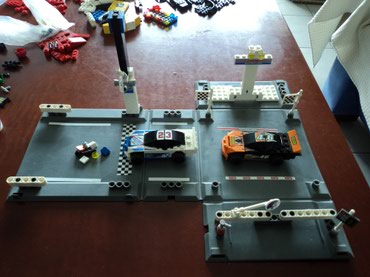 Lego 8125 Racers Thunder Raceway Used 100% complete with original σε North & East Suburbs
