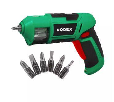 RDX331 Отвертка аккумуляторная Rodex Power - это международный бренд