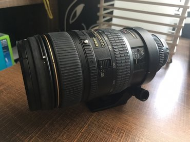 Nikon 80-400mm f/4.5-5.6D ED AF VR objektiv u odličnom stanju. - Obrenovac