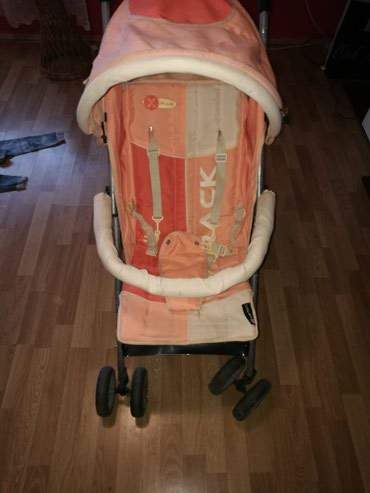 Kolica za bebe, malo je ručka desna ostecena-vidi se na slikama, bez - Zabalj