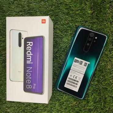 Xiaomi Redmi Note 8 Pro | 64 ГБ | Зеленый | Гарантия, Сенсорный, Отпечаток пальца