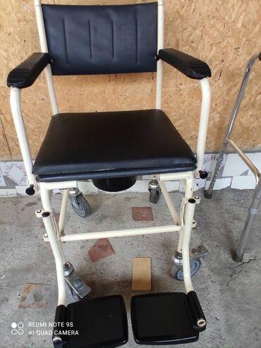 184 объявлений: Инвалидная коляска с санитарным оснащением почти новый