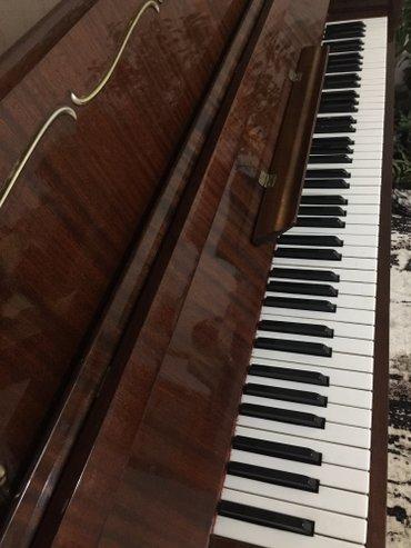 """пианино б/у 1987 год """"аккорд ссср"""" с функцией клавесина 🔔 3 👞👞👞педали  в Бишкек"""