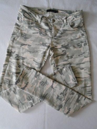 Maskirne pantalone/farmerke Tally Weijl, veličine 40, nošene, - Belgrade