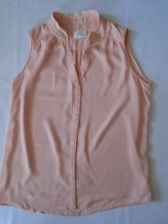 Majca-opus-samsi - Srbija: Ženstvena Opus košuljica, nežne puder roze/kajsija boje, veličine 36