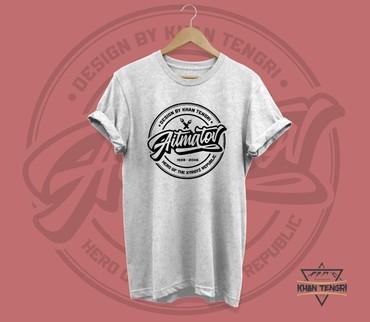 Стильные футболки Khan Tengri Бишкек в Бишкек