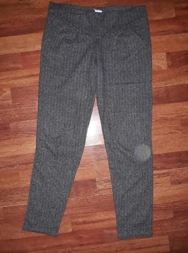 Pantalone-helanke-tamno-borda-bojaa - Srbija: Deblje pantalone -helanke