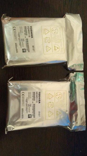 жесткий диск внешний toshiba 1 tb в Кыргызстан: Продаю новые жёсткие диски 1тб. В упаковке. Тошиба, хард, toshiba