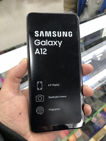 web камера в Кыргызстан: Samsung A12 новый! 4 камеры  5000 маЧ