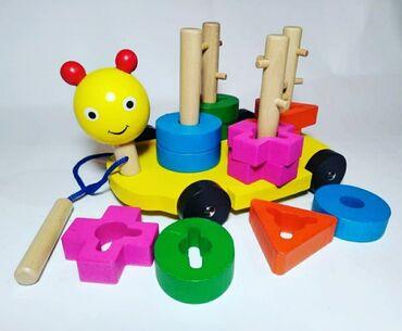 Игрушки развивающие Мантисори деревянная. Эти игрушки помогут Вашему