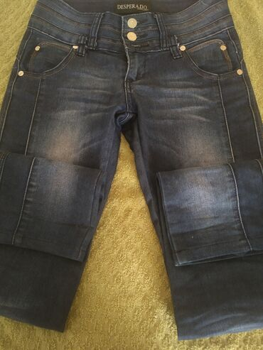 Мужская одежда - Кок-Ой: Женские джинсы, состояние нормальное