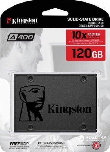 Ssd kingston 60gb ssdnow v300 - Кыргызстан: Внутренний жесткий диск Kingston SA400S37/120GОсновные