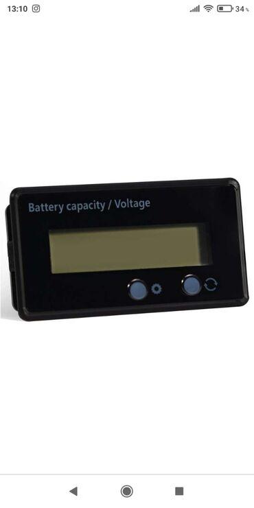 101 объявлений: Калибровочный индикатор емкости аккумулятора 8v-100v для литиевых и