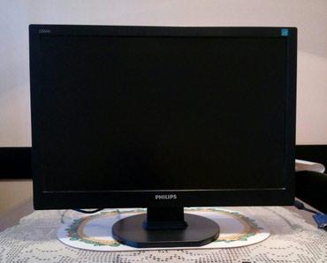Philips xenium x128 - Srbija: Monitor Philips (malo koriscen) LCD 220VW,55 dijagonala (mislim da je