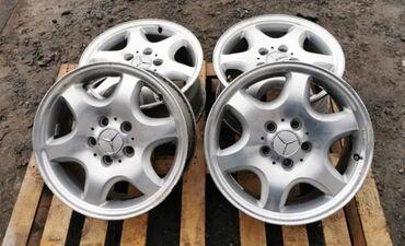 r16 диски в Кыргызстан: Mercedes R16 разноширокие! Параметры дисков пепед 7Jx16H2ET37. Зад