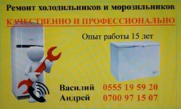 Ремонт холодильников и морозильников! в Бишкек