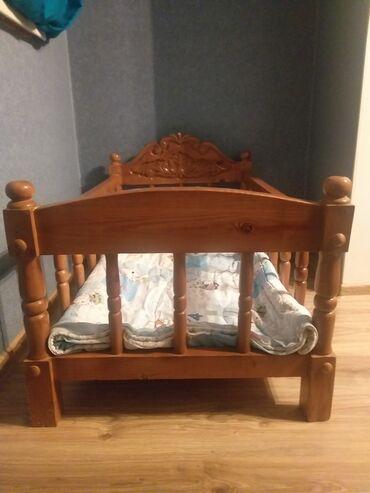 Продаём детскую кроватку. Качество отличное, натуральное дерево. Очень