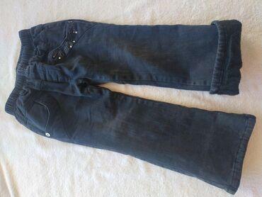 Зимние штаны на 3-4 года для девочек. В хорошем состоянии. 100с