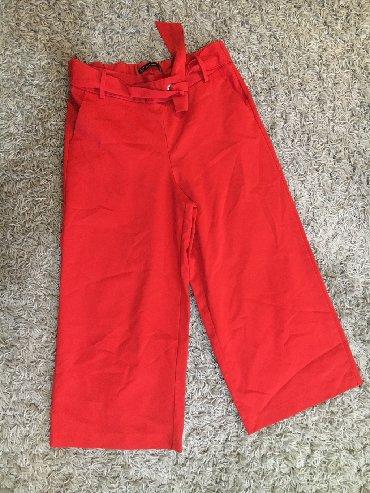 Pantalone struk duzina - Srbija: ZARA pantalone Jednom obuceneDuzina 86cmStruk 40cm poluobim na