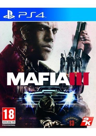 Bakı şəhərində Ps4 üçün Mafia 3 oyun diski satılır Yenidir