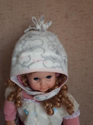 шапочка на годик в Кыргызстан: Шапочка флис.фирмы Old Navy(сша) на 2-4 годика в отлич.состоянии.300