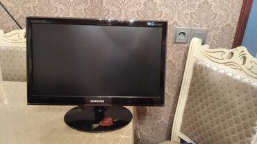 Monitorlar - Azərbaycan: Samsung PC monitoru 22500 duymeleri sensordu problemsizdir qiymət