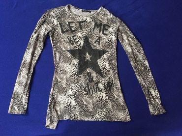 Majica dug - Srbija: Sisley majica za devojčice sa dugim rukavima. Od laganog pamuka sa