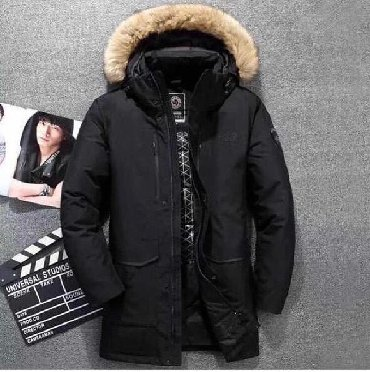 Мужские куртки фирмы THE NORTH FACE чёрного цвета  Все размеры  Соста