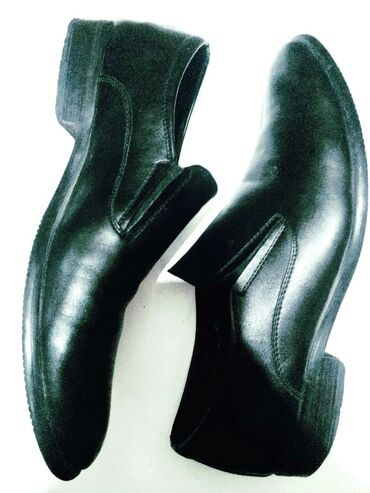 40р. Туфли, Турция, мужские классические, черные, кожа, очень мягкие