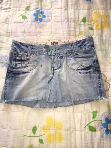 River Island мини джинсовая юбка, состояние отличное, размер: S
