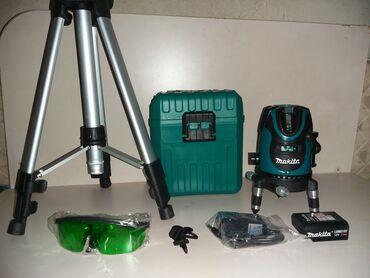 Višelinijski zeleni laser-nivelator Makita, potpuno nov, nekoriscen