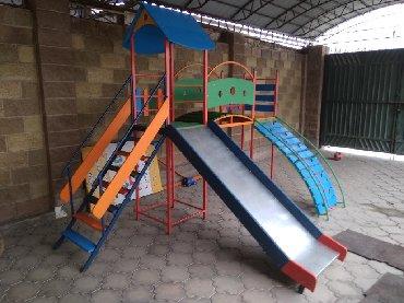 воспитатель детского сада вакансии в Кыргызстан: Детские горки! С мостиком, башенками и скалодром!!! Надёжные