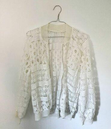 Zenska cipkana jaknica, kao nova, ni jednom nije nosena