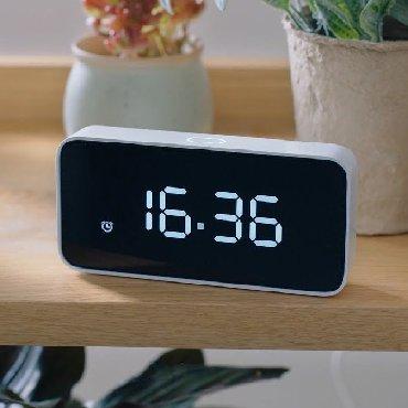 Будильник Xiaomi Xiao AI Smart Alarm ClockВсю лицевую поверхность