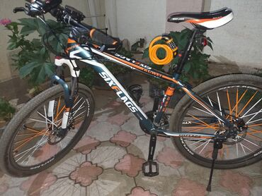 Продаю новый велосипед оригинал 24скоростей район чуй карпинка