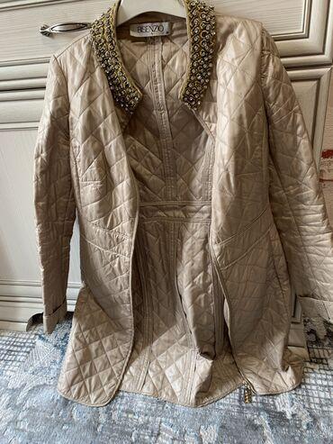 Куртки - Бежевый - Бишкек: Balizza на весну, камни сваровски, размер 36, Турция, покупала очень