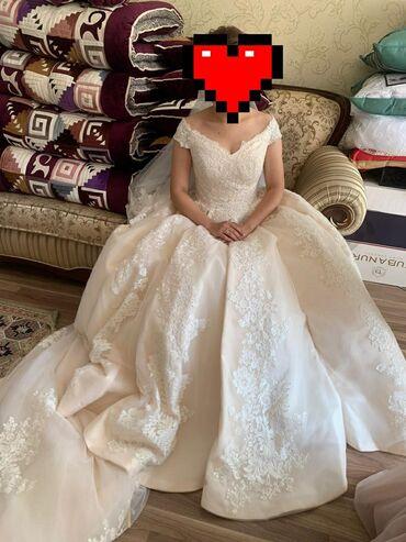 свадебное платье напрокат в Кыргызстан: Продаётся свадебное платье, одевалась один разпроизводство Турция