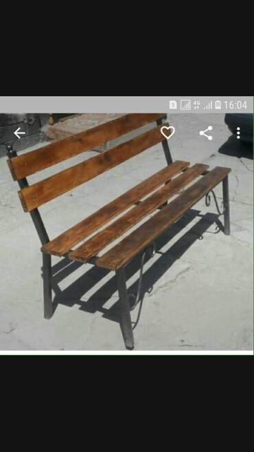 цена жидкого травертина в бишкеке в Кыргызстан: Изготавливаем скамейки цена от 3500 и выше