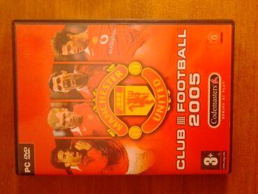 Manchester city - Srbija: Club football 2005 Manchester United pc igra u originalnom pakovanju