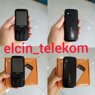 6303 - Azərbaycan: Nokia 6303 Model Yenidi 2sim kart yaddaw karti destekleyir.Mingecevir
