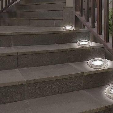 4 SOLARNE DISK LAMPEU paketu dobijate 4 okrugla solarna svetla i