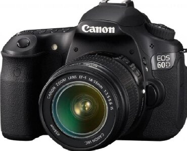canon g7x mark 2 в Кыргызстан: Продаю фотоаппарат canon 60d с объективом canon 18-55