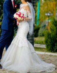 Продаю шикарное свадебное платье в Бишкек