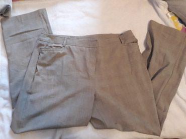 Pantalone na ivicu,jednom nosene,vel.3/4xl - Pozega