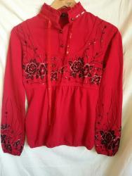 трикотажная рубашка в Кыргызстан: Новая трикотажная кофта, 44-46р. Темно красная, теплая, приятная к тел