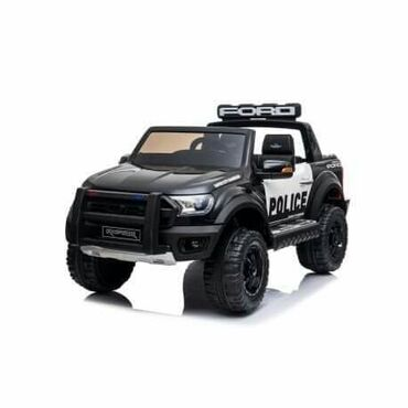 Auto sedista - Srbija: Dečiji auto na akumulator FORD RANGER RAPTOR POLICE 4X4 LICENCIRANI