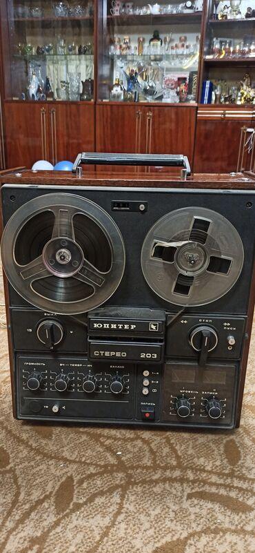 Электроника - Новопокровка: Катушечный магнитофон Юпитер 203 стереоВ очень хорошем состоянии