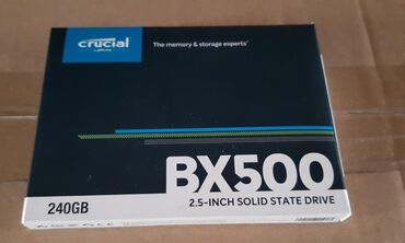 сколько стоит школьная парта в Кыргызстан: Продаю SSD Crucial BX500 на 240gb Новый, перепутал с ssd m.2В магазине